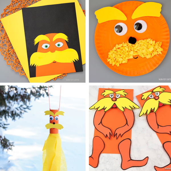 Lorax crafts for kids 1