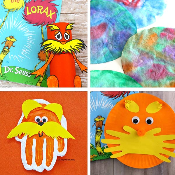 Lorax crafts for kids 2