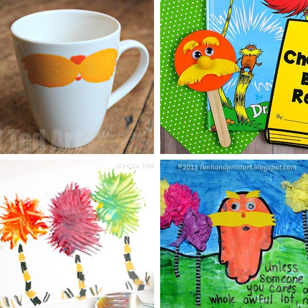 Lorax crafts for kids 3