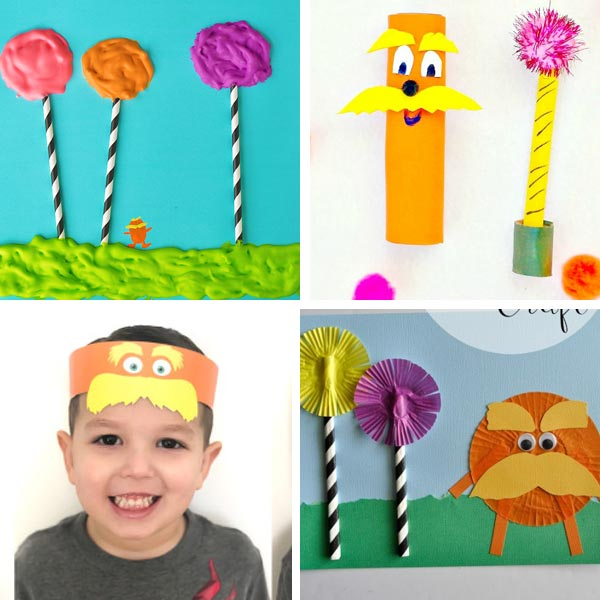 Lorax crafts for kids 4