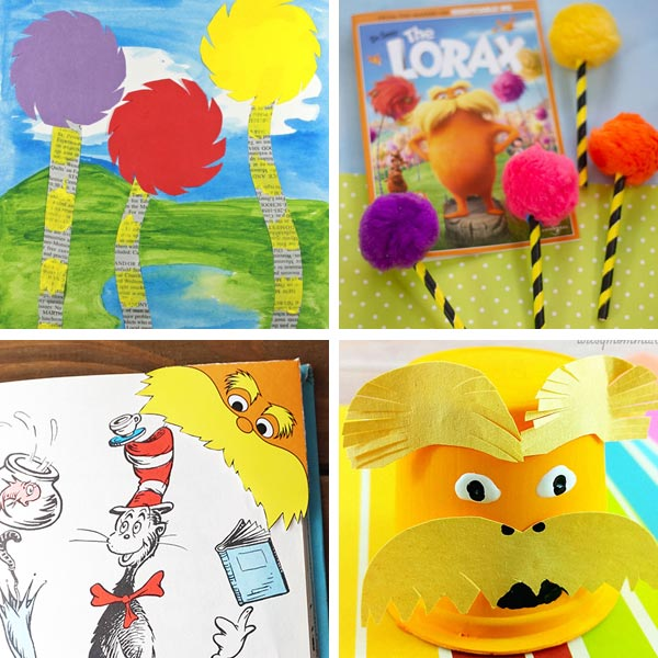 Lorax crafts for kids 5