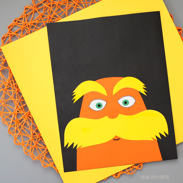 The Lorax craft for kids