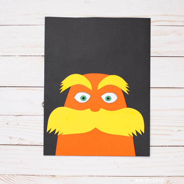 Lorax eyebrows