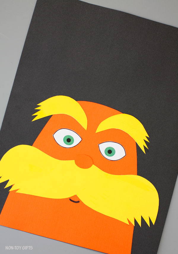 The Lorax - Dr Seuss craft for kids