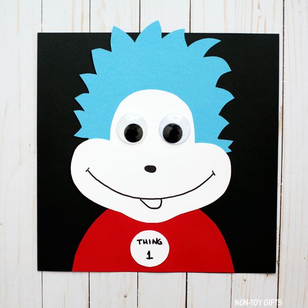 Thing 1 and thing 2 eyes