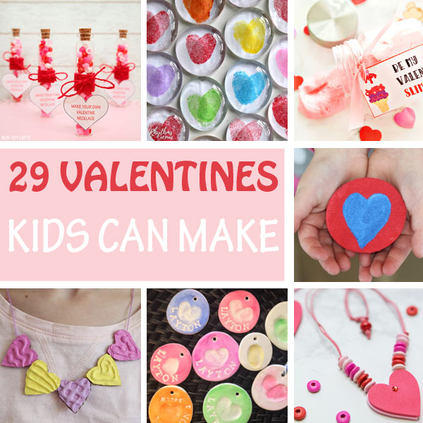 Valentine kids can make for Valentine's Day