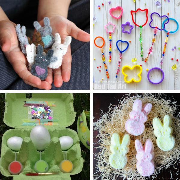 DIY Easter basket fillers for kids