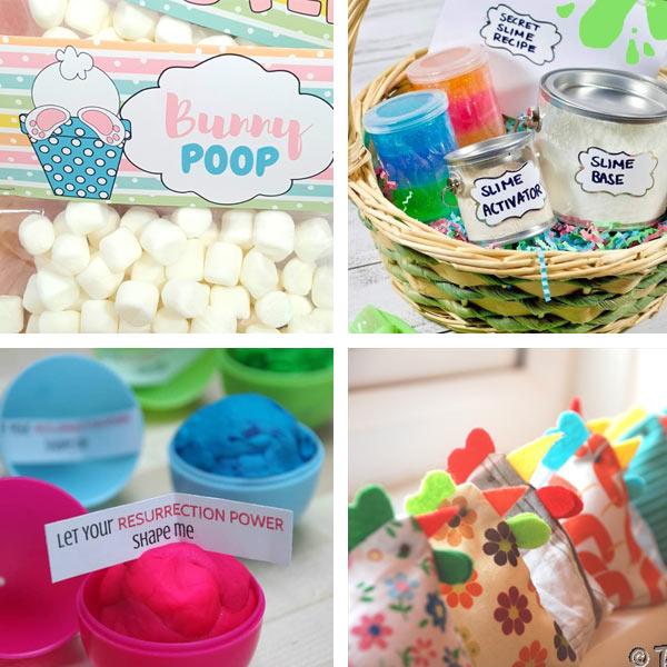DIY Easter basket filler ideas for kids