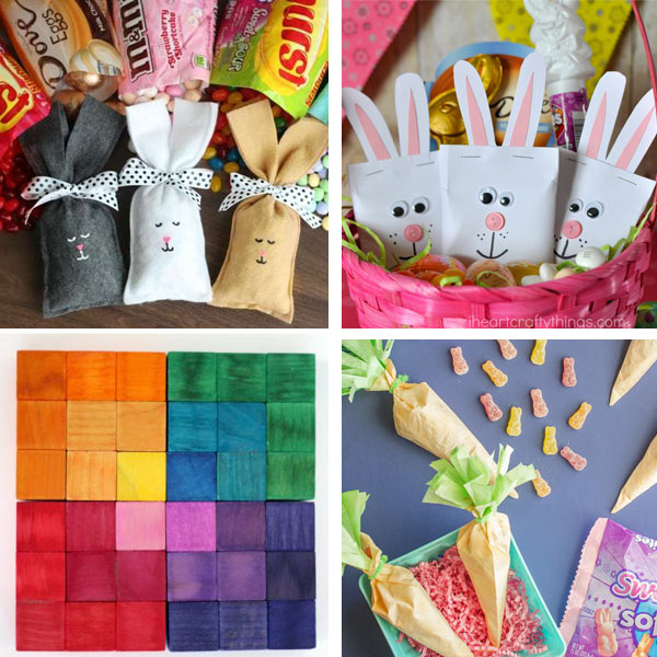 Homemade Easter basket filler ideas