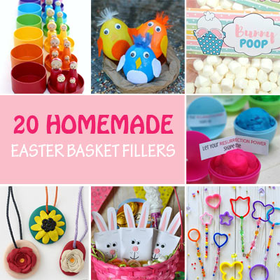 20 DIY Easter basket fillers