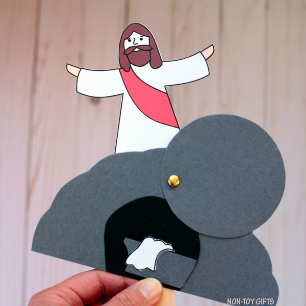 He is Risen craft for kids.