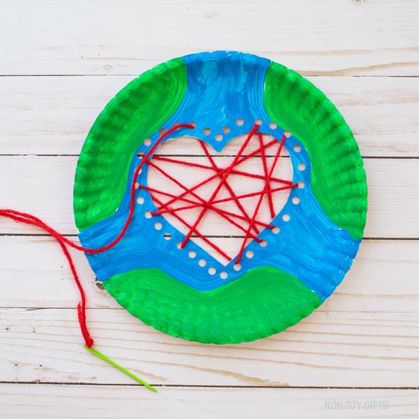 Yarn sewing