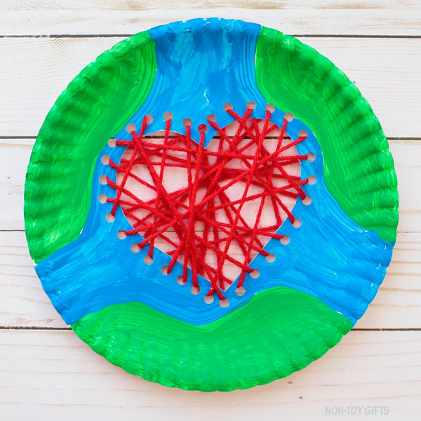 Easy Earth day craft for kids