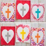 Easter cross art project
