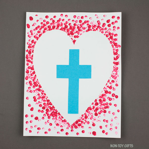 heart cross art 1