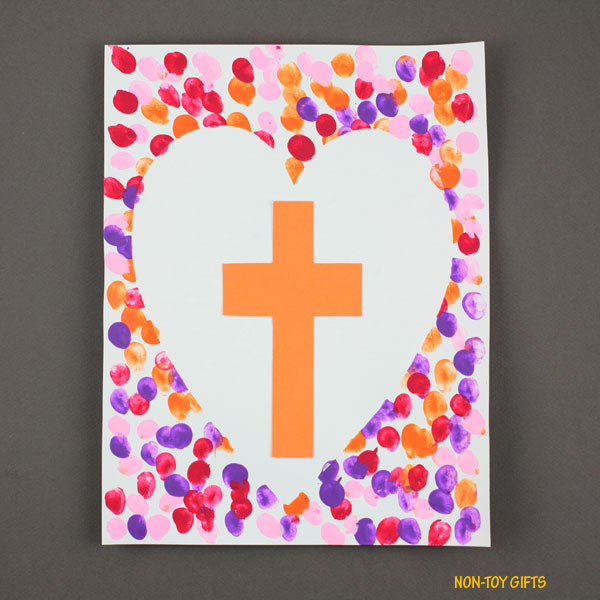Easter cross art 2