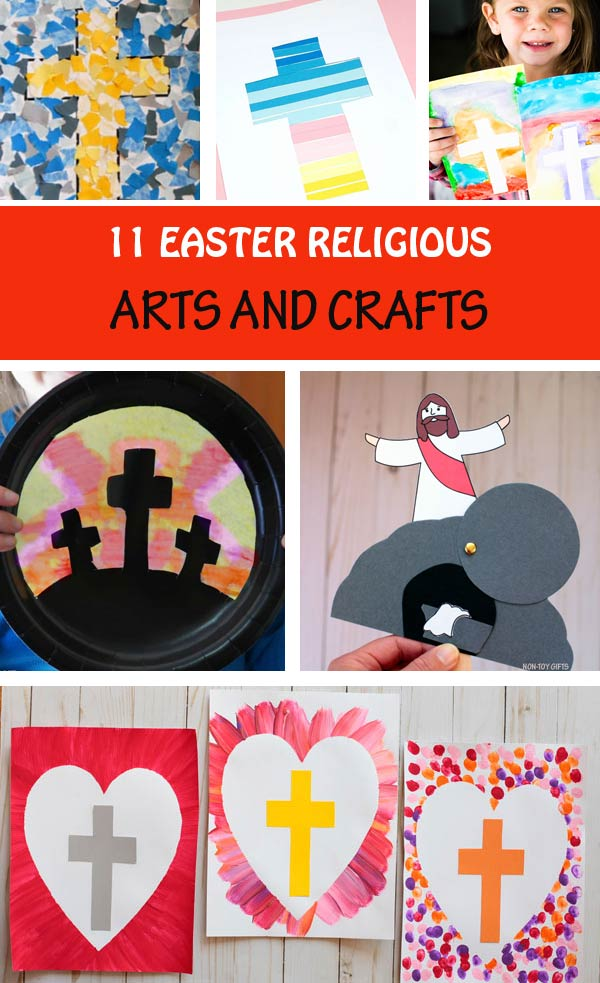 11 Easter Religious Crafts Arts For Kids Easter Sunday School