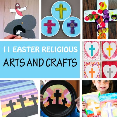 11 Easter religious crafts and arts