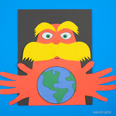 Lorax Earth Day craft