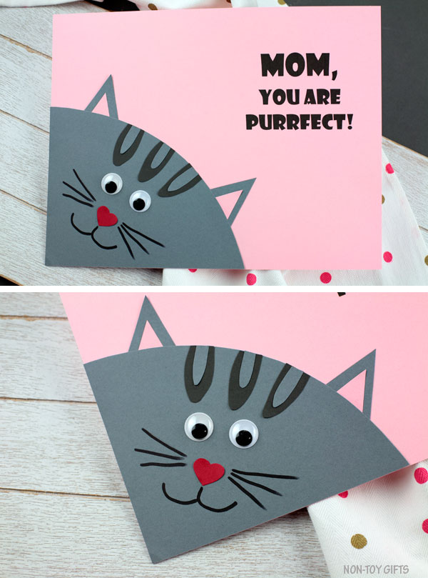 Mother's Day purrfect craft for kids