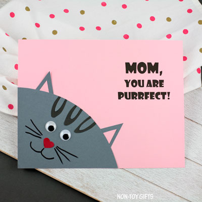 Mother's Day purrfect craft