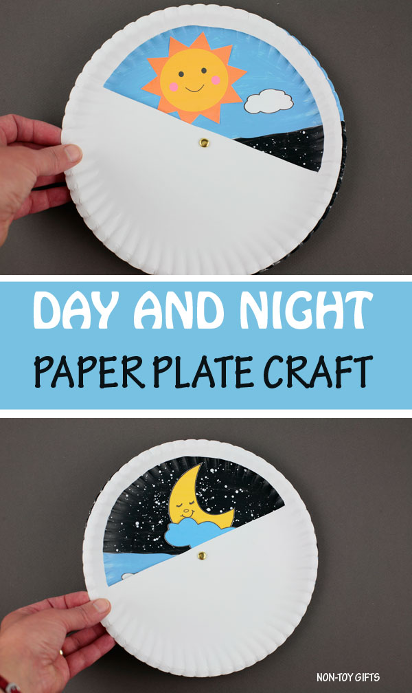 Day and night craft for kids