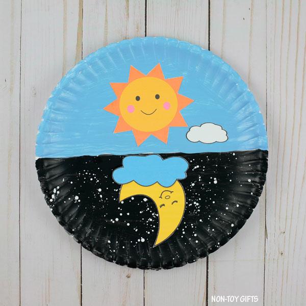 Sun craft kids