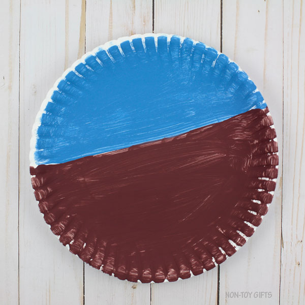 painted paper plate