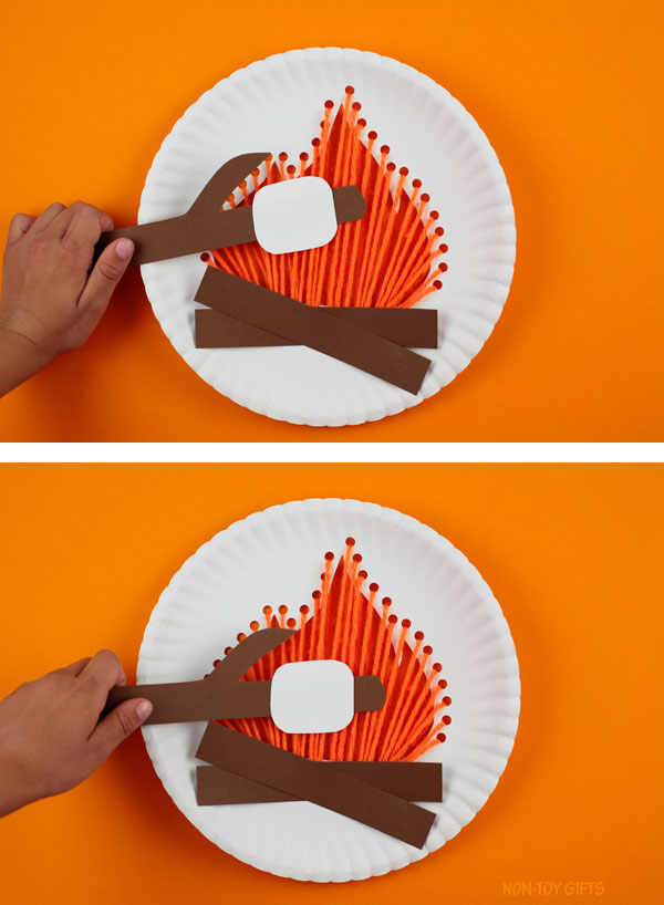 S'mores craft kids