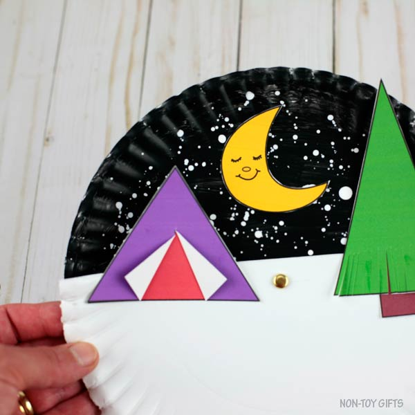 Summer camping craft for kids