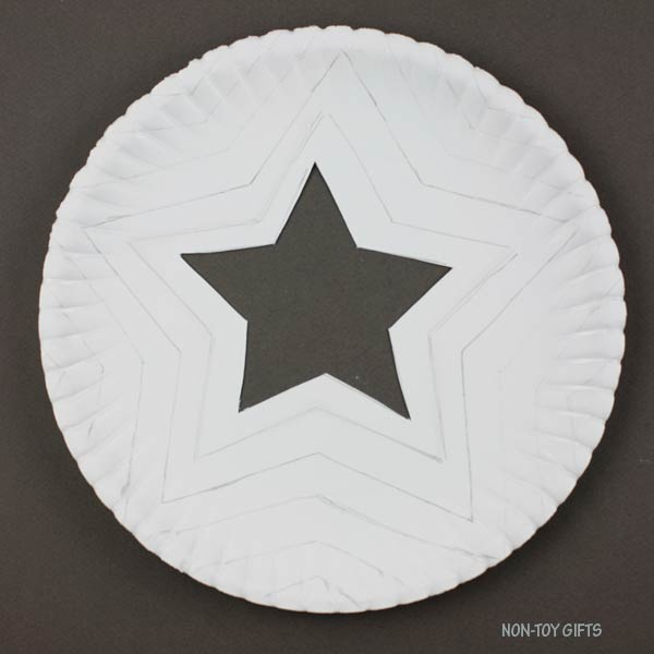 Small star cut out
