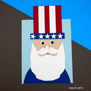 Uncle Sam craft for kids