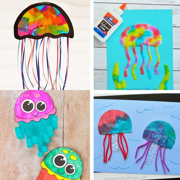 Under the sea jellyfish craft ideas for kids