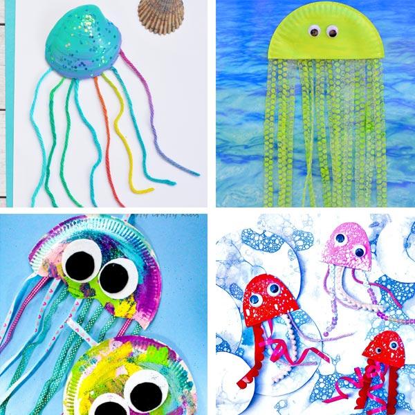 Ocean animals jellyfish