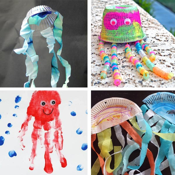 Jellyfish ideas for kids