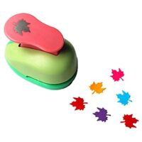 Leaf paper punch
