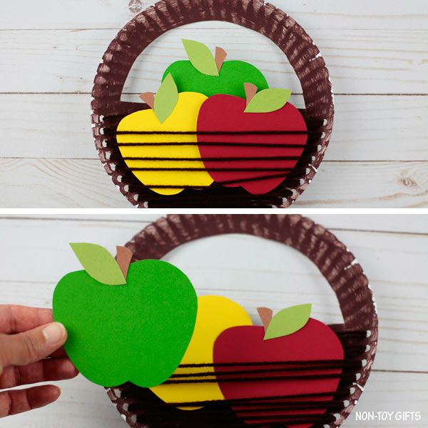 Apple picking craft for kids