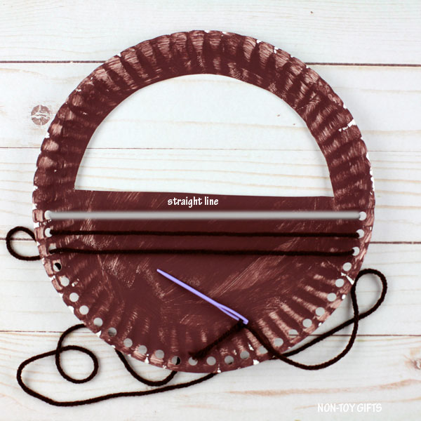 straight line yarn