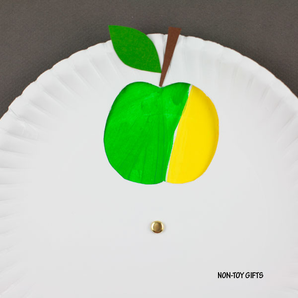 Easy fall apple craft kids