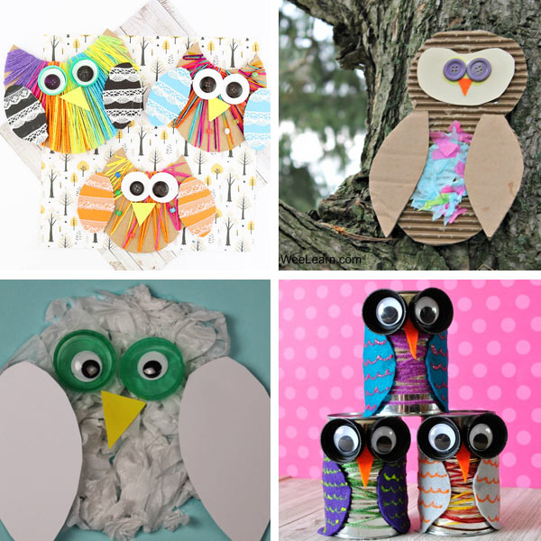 Owl craft ideas 4