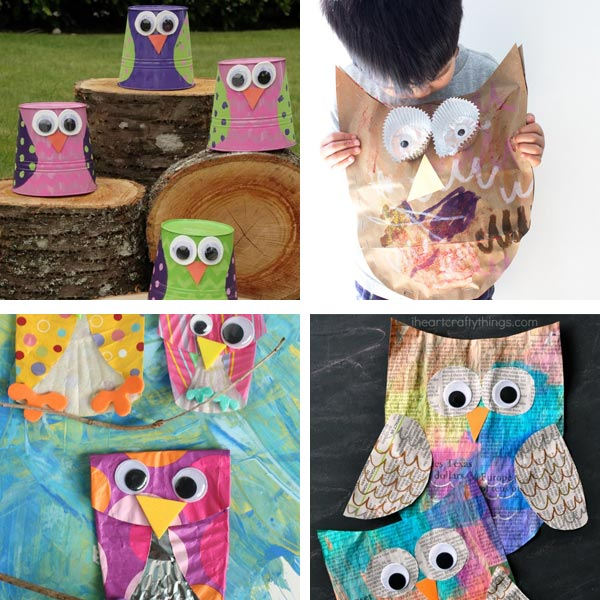 Owl craft ideas 1