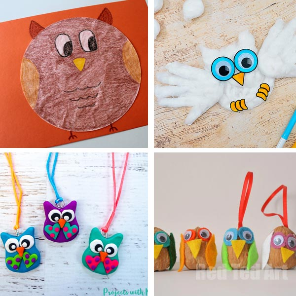 Owl craft ideas 2