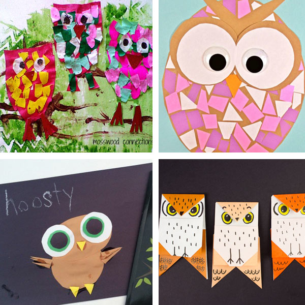 More paper owls