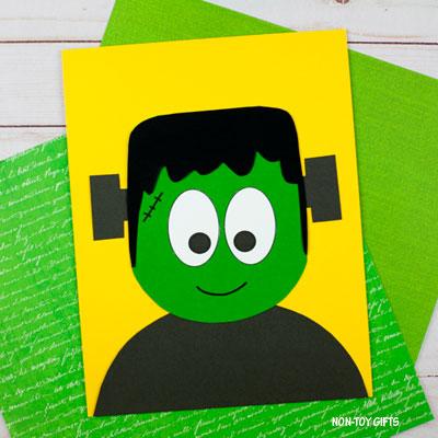Paper Frankenstein Craft For Kids