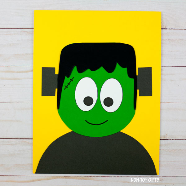 Frankenstein craft idea for kids