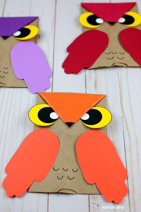 Owl crafts for kids