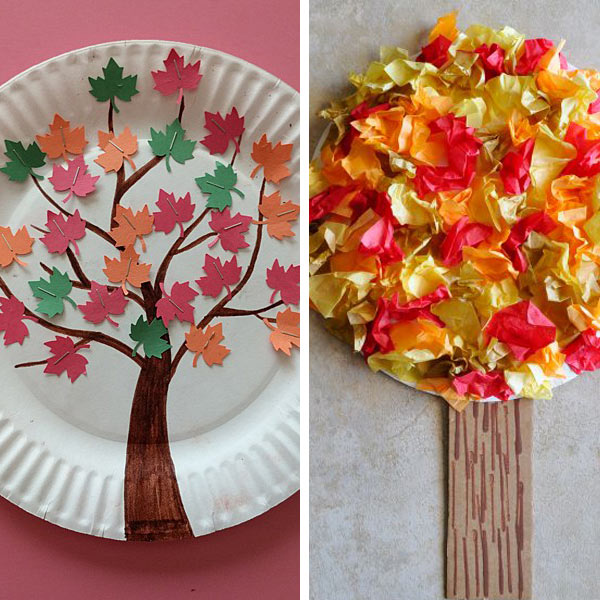 fall tree craft ideas for kids
