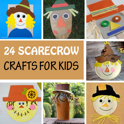 24 Scarecrow Crafts For Kids
