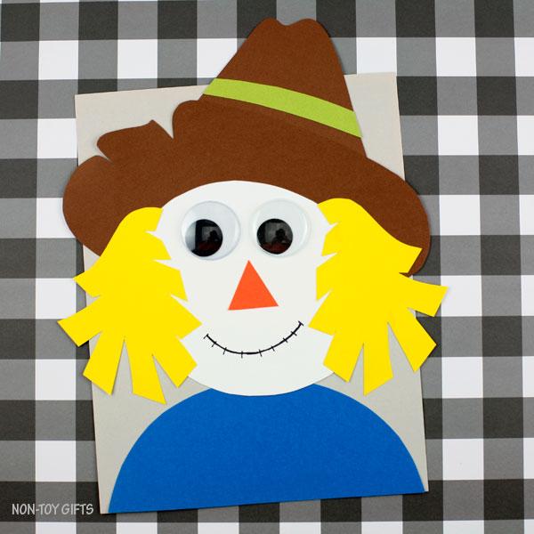 Fall scarecrow craft