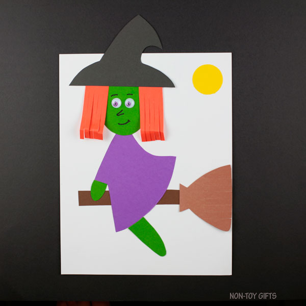Witch craft for kids to make this Halloween